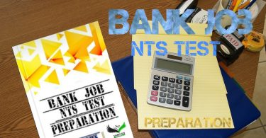 Banks Job & NTS test Preparation