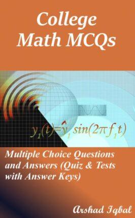Math MCQs Notes Book