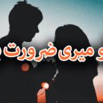 Tu Meri Zarorat Hai Novel Complete