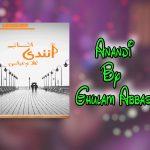 Anandi By Ghulam Abbas Pdf