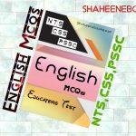 English MCQS For Educators Test