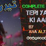 Teri Yad Ki Aanch By Ana Ilyas - Romantic Urdu Novels