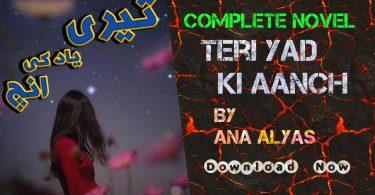 teri yaad ki aanch by ana ilyas