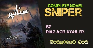 Sniper Urdu Novel By Riaz Aqib Kohler