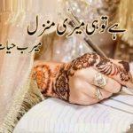 Hai Tu Hi Meri Manzil Novel