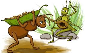 The Ant and the Grasshopper-short stories