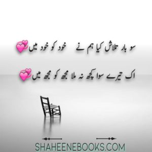 Love Shayari in Urdu
