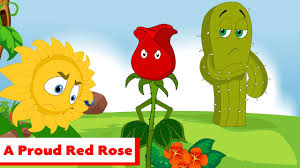 Proud Red Rose