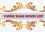 Yusra Shah Novel List | Best Urdu Novels