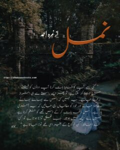 Namal by Nimra Ahmed Complete Novel | Best Urdu Novels