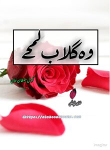 Wo Gulab Lamhe Novel