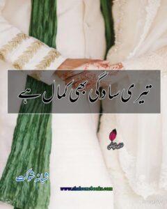 Teri Sadgi Bhi Kamal Hai Novel