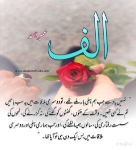 Alif Novel Quotes