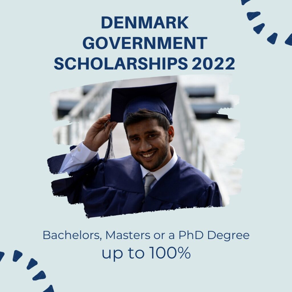 Funded Scholarships by Denmark Government 2022